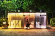 فیلم | درون توالتهای شفاف توکیو