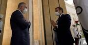 تصاویر | لحظه ورود مکرون به کاخ نخست وزیری عراق