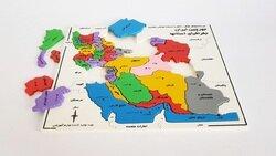 مرز ایران - نقشه ایران