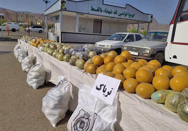 كشف مواد مخدر در ايرانشهر