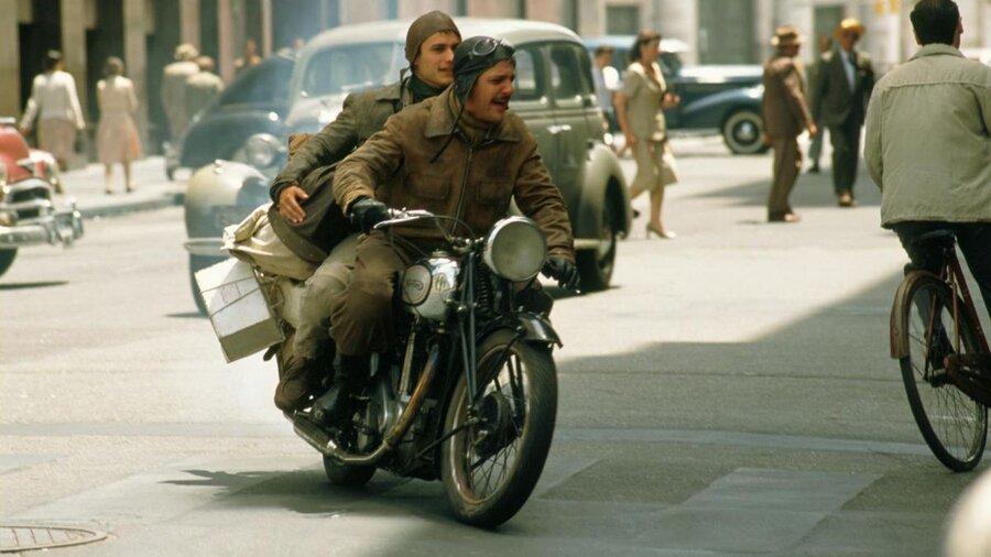 خاطرات موتور سیکلت