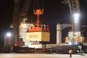 پهلوگیری ۲ کشتی ترانزیتی هند و امارات در بندرچابهار