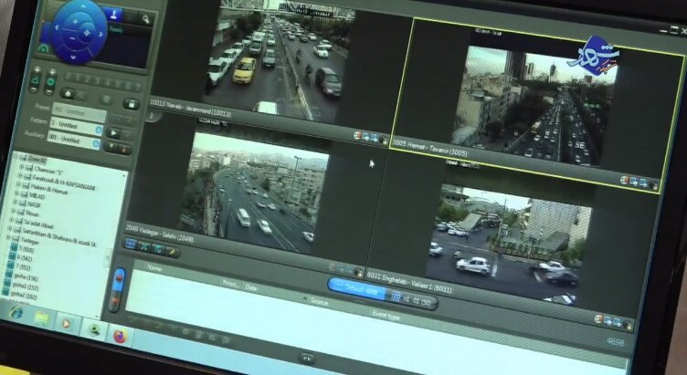 ترافیک تهران در صبح ۱۵ شهریور ۹۹