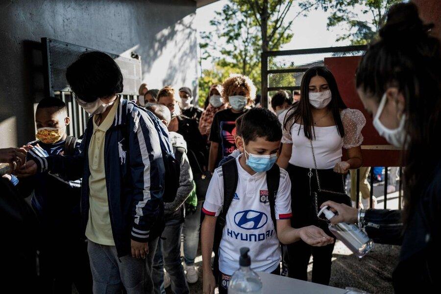 بازگشایی مدارس فرانسه
