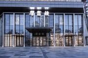 تلفیق شیشه و نور در یک کتابفروشی چینی
