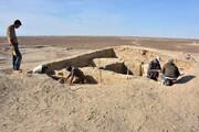 آغاز کاوشهای باستانشناسی آتشکده فردقان