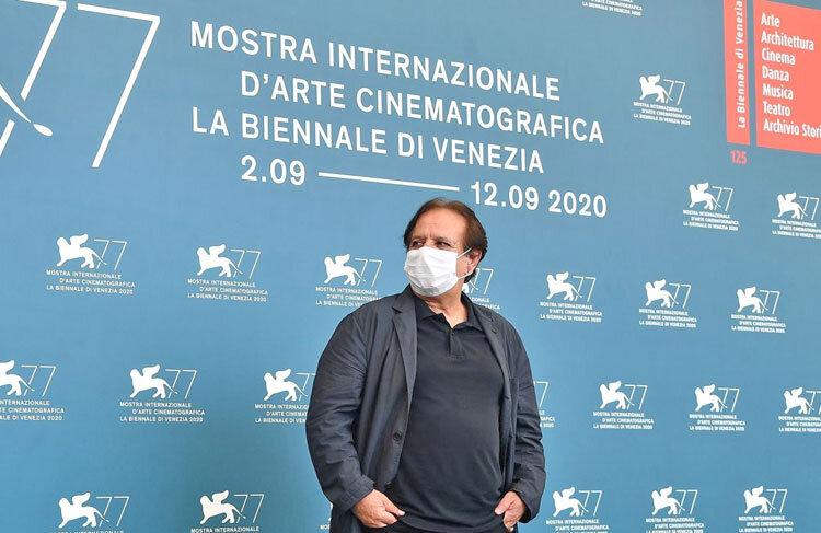 مجید مجیدی و جواد عزتی در جشنواره فیلم ونيز