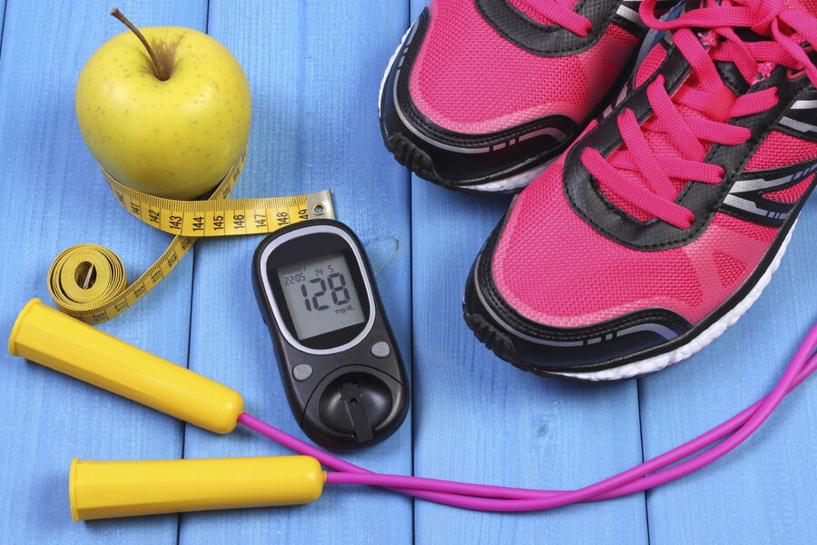diabetes blood sugar sport