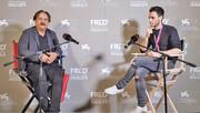 گفتگوی مجیدی با خبرنگار ایتالیایی   رونمایی از فوقستاره آینده سینمای ایران در خورشید