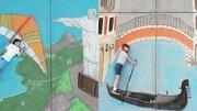 یک هنرمند کوچک سفر دور دنیا را در دوران کرونا ممکن کرد