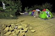 تصاویر   وضعیت زلزلهزدگان روستای قورچای