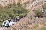 عکس| سقوط خودرو ۱۲۵ میلیون تومانی به دره محور رودهن