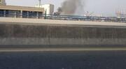 آتشسوزی جدید در بندر بیروت