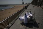 عکس | ماجرای آیسییو در کنار دریا برای بیمار کرونایی