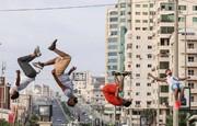 عکس روز | پارکور در غزه