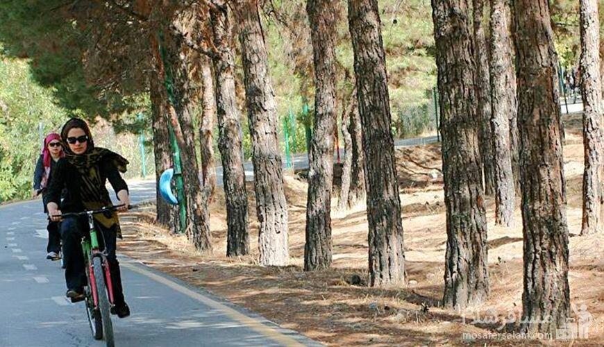 پیست دوچرخه سواری زنان