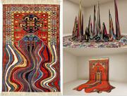 تصاویر | طرحهای شگفتانگیز هنرمند اهل باکو با الهام از فرش آذربایجان