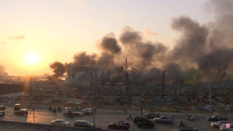 آتش در بیروت