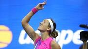 تنیس آزاد آمریکا   واکنش فینالیستها بعد از صعود