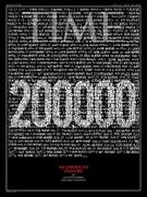 ۲۰۰۰۰۰ کشته کرونا در آمریکا روی جلد مجله تایم