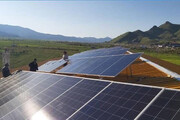 تولید ۲ میلیون کیلووات برق خورشیدی در سال