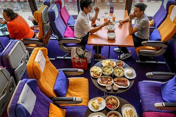 رستوران - غذای هواپیما - تايلند