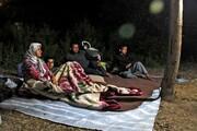 پیگیری زلزله قورچای رامیان   شبهای سرد که با دلگرمی وعدهها صبح میشود