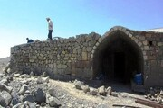 تکمیل مرمت کاروانسرای تاریخی روستای ایری ورزقان