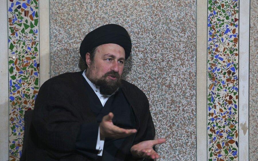 تصاویر | حضور سید حسن خمینی در بیت آیت الله العظمی صانعی(ره)