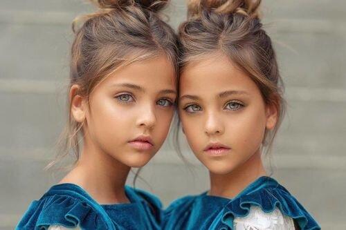 تصاویر | زیباترین دوقلوهای دختر جهان فالوئر میلیونی در اینستاگرام دارند