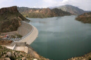 ذخیره ۲۷۴ میلیون مترمکعب آب پشت سدها