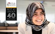 بانوی ایرانی در جمع ۴۰ استاد برتر جوان دنیا قرار گرفت