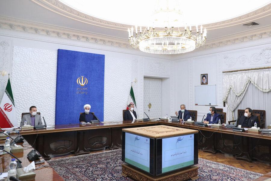 روحانی در جلسه هماهنگی اقتصادی دولت