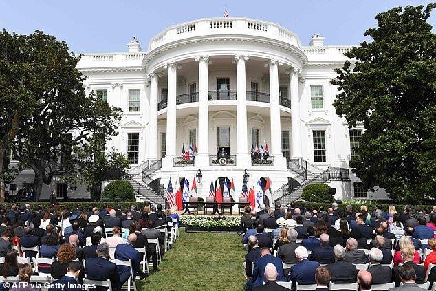 توافق خاورمیانه در کاخ سفید