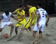 تیم فوتبال ساحلی اردکان در لیگ برتر ماندگار شد