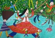 دختر کرمانی در مسابقه نقاشی کودکان آسیایی سوم شد
