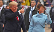 عکس | پوشش کرونایی ملانیا ترامپ در آخرین مناظره انتخاباتی آمریکا