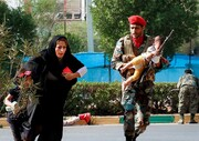 تصاویر دیده نشده از حمله تروریستی اهواز ؛ رژه ۳۱ شهریور ۱۳۹۷