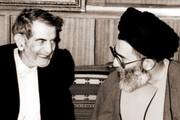 تصویری متفاوت از رهبر انقلاب | دیدار صمیمانه با شهریار