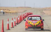 تصاویر | رقابتهای جایزه بزرگ اتومبیلرانی در تهران | خودروهای شرکتکنندهها را ببینید