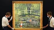 حراج اثر بنکسی با موضوع کلود مونه