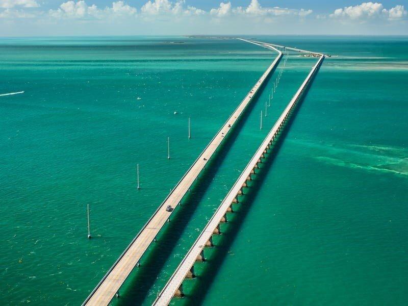 خطرناکترین جادههای دنیا - بزرگراه ۱، فلوریدا