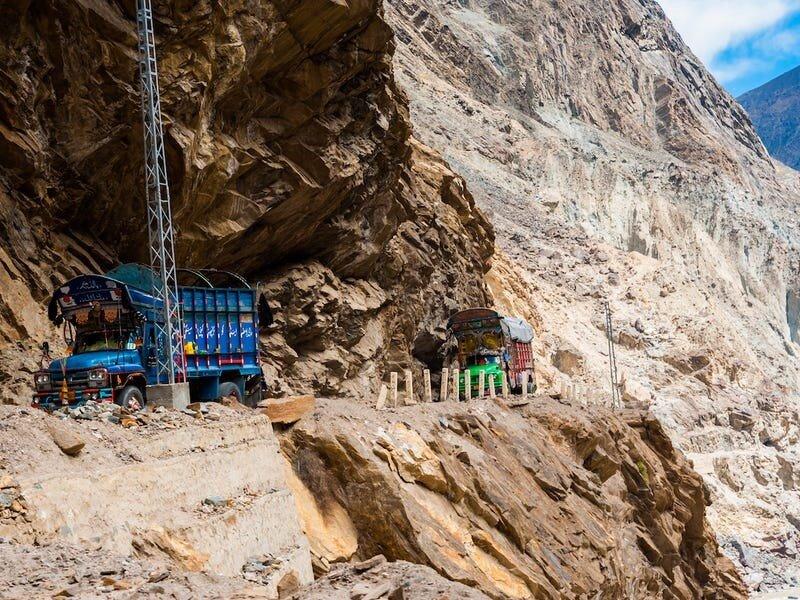 بزرگراه کاراکورام، بین پاکستان و چین