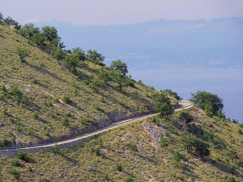 جادههای ساحلی کرواسی