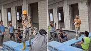 ویدئو   نمایش طنز مد کارگران ساختمانی سوژه رسانهها شد