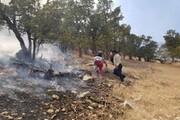 آتشسوزی کوههای شهرستان لنده مهار شد