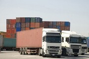 مشکل خروج کامیونها در مرز مهران حل شد