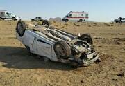 ۲ کشته و یک مصدوم در حادثه رانندگی پاکدشت