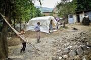 رسیدن زمستان؛ دغدغه این روزهای زلزلهزدگان قورچای