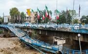 پل اصلی تالش در حال تخریب است   نیاز شدید به امکانات لجستیکی سپاه